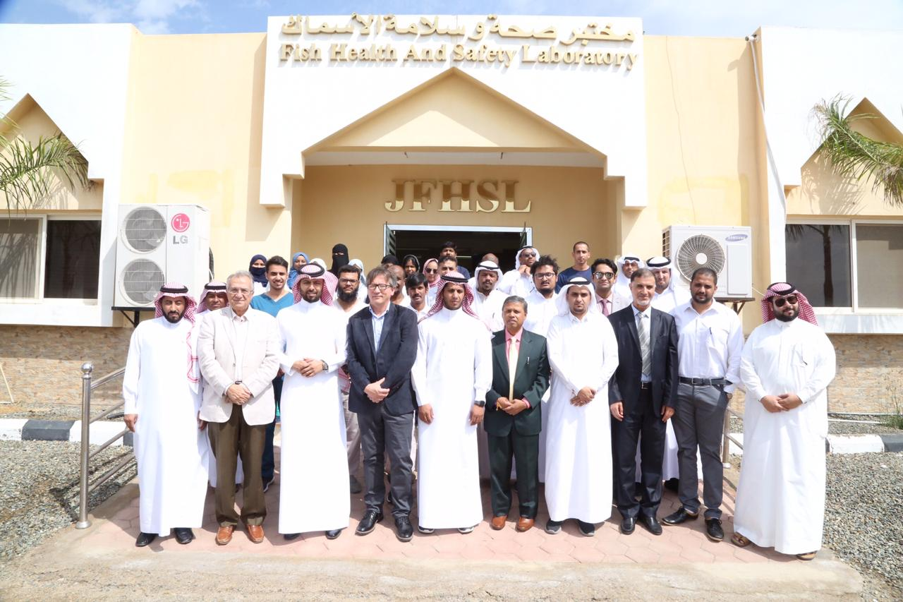 Launching of Twinning Project Between the University of Arizona's Aquaculture Pathology Laboratory and the Fish Health and Safety Laboratory in Jeddah